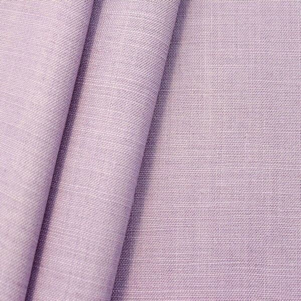 100% Leinen Stoff Artikel Sienna Farbe Mauve