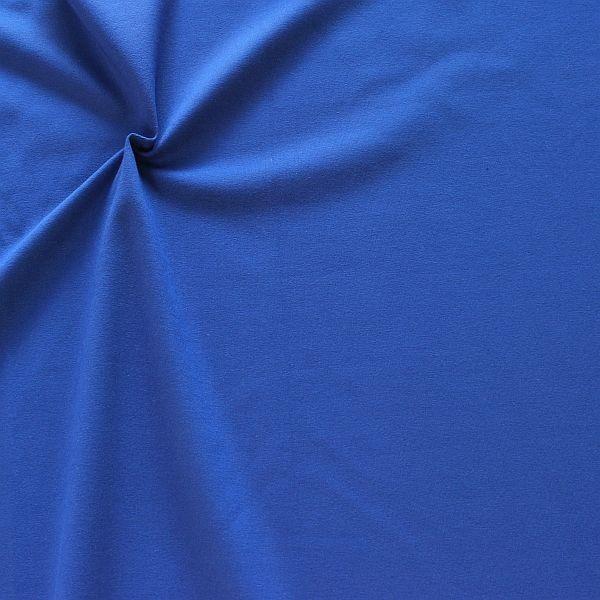 Baumwoll Stretch Jersey Fashion Basic Royal-Blau