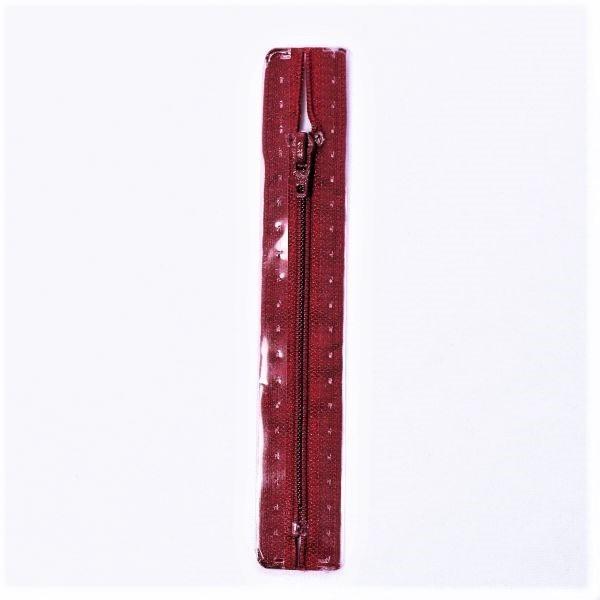 Reißverschluss S1 Typ 12 cm Granat