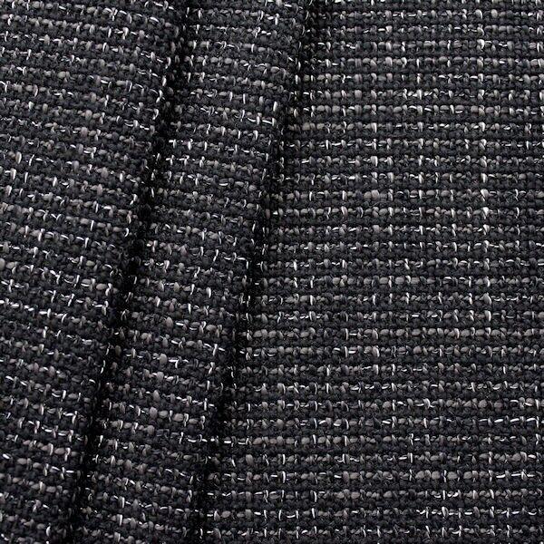 2,80 Meter Polster- Möbelstoff Bouclé Optik Artikel Roma 2 Farbe Schwarz