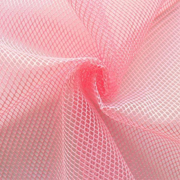 Mesh Netzstoff Rosa