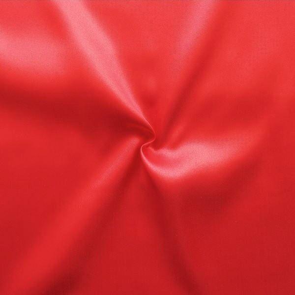 Satin Stoff Farbe Rot