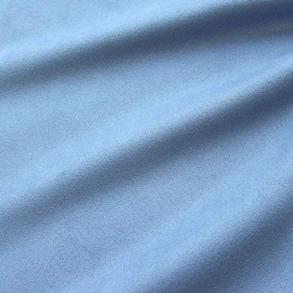 Microfaser Polster- Möbelstoff Artikel Gentle Farbe Tauben-Blau