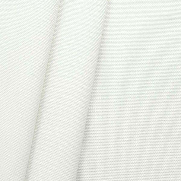 Indoor- Outdoorstoff Panama Bindung Perl-Weiss