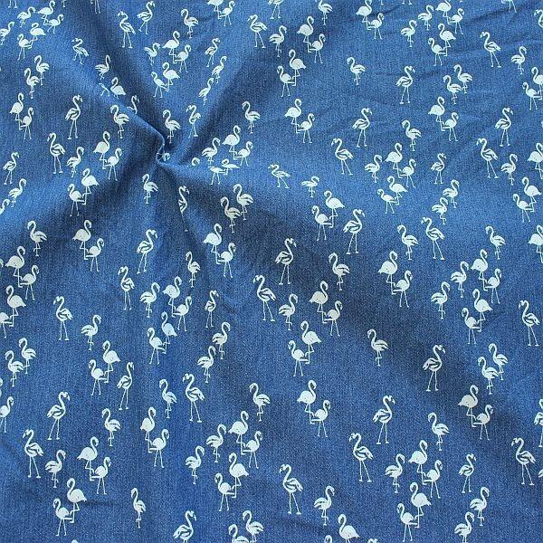 Stretch Denim Jeans Flamingos Jeans-Blau