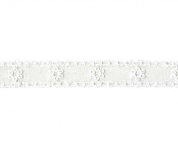 Prym Festonspitze 18mm x 1,5m (Breite / Länge) weiss