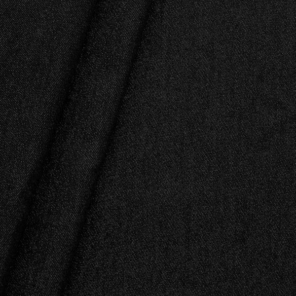 100% Baumwolle Denim Jeans Stoff Schwarz
