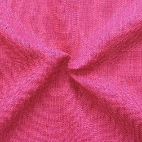 "Modestoff / Dekostoff universal ""Leinen Optik"" Farbe Pink"