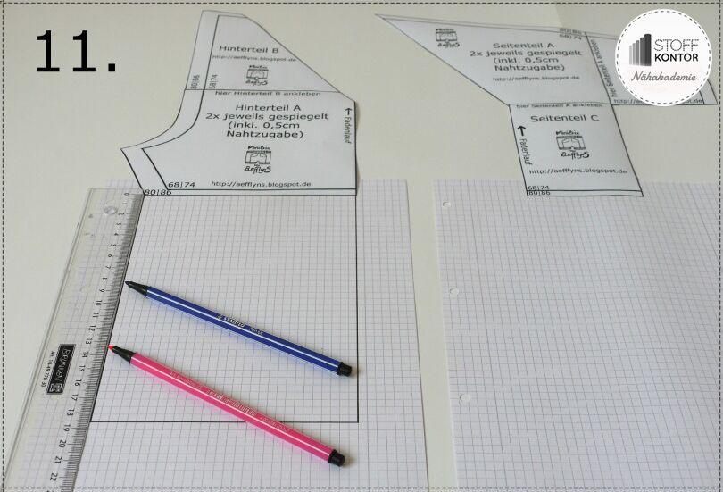 11-minibix-schnittmuster-uebertragen