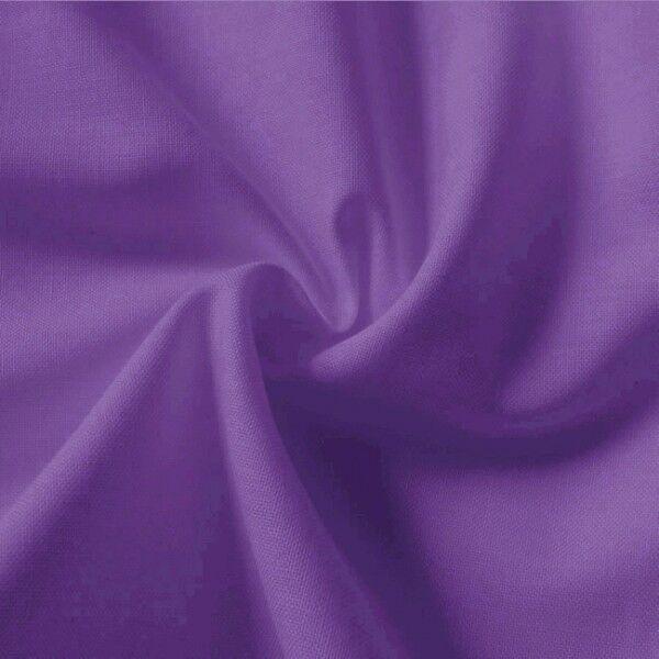 100% Baumwolle Fahnentuch Farbe Lila