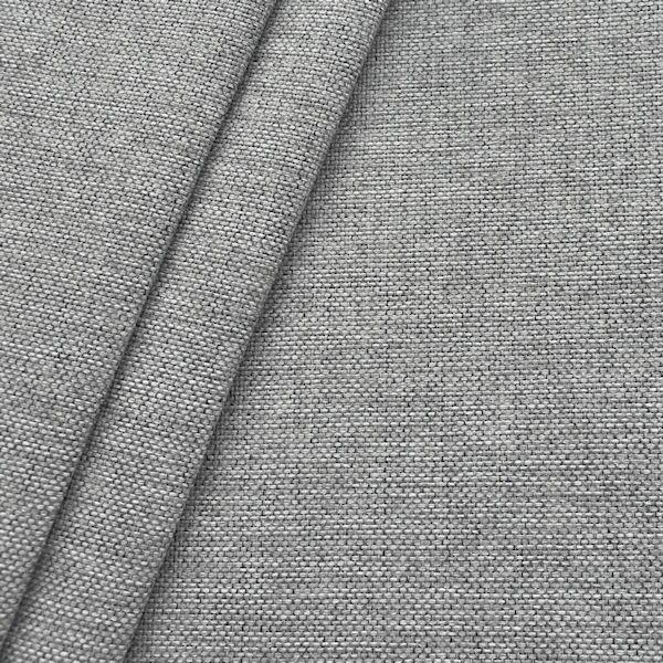 Polster- Möbelstoff Artikel Muna Hell-Grau meliert