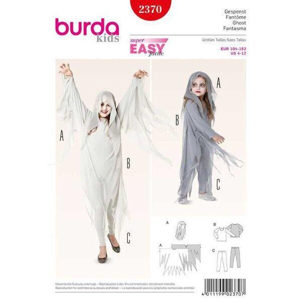 Burda 2370 Schnittmuster für Halloweenkostüm Gespenst