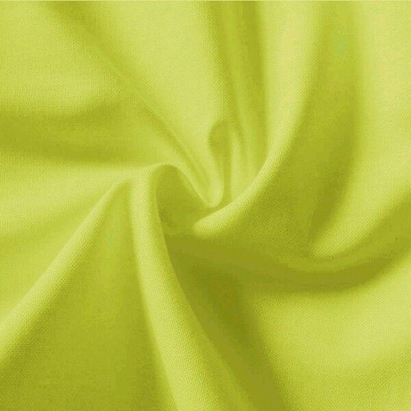 100% Baumwolle Fahnentuch Farbe Lind-Grün