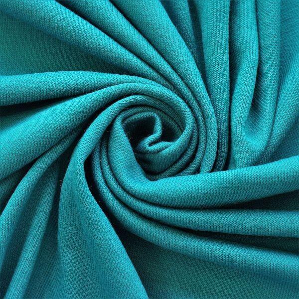 Feinstrick Jersey Classic Knitwear Petrol