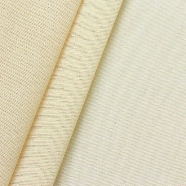 100% Baumwolle Schleiernessel / Windelnessel Artikel Velo Roh-Weiss / Ecru
