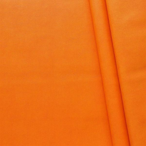 Nappaleder Imitat Orange marmoriert