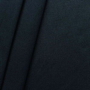 Dunkelblau Canvas aus Baumwolle