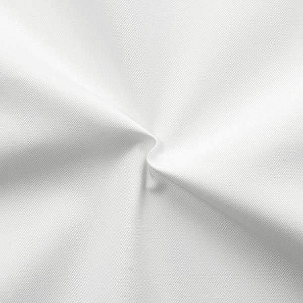 Polyester-Baumwoll Köper Basic Workwear Weiss