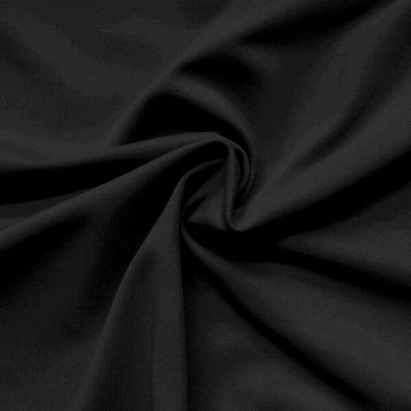Trevira CS Super Stretch Stoff Artikel Tajo Farbe Schwarz