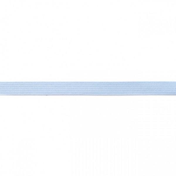 2m Elastikband Breite 10mm Farbe Hell-Blau