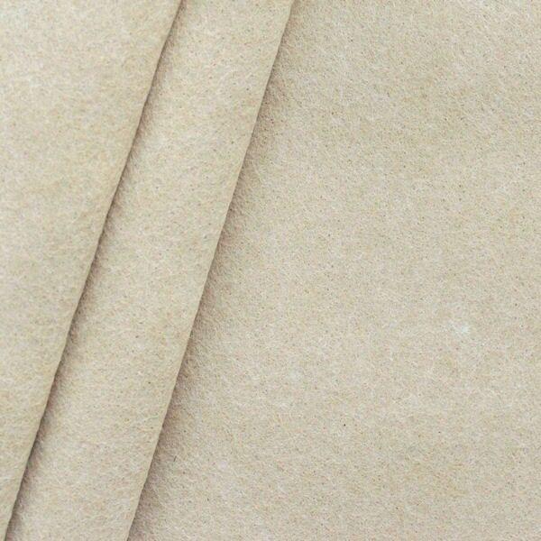 Bastel Filz Stärke 3,0mm Breite 90cm Farbe Beige