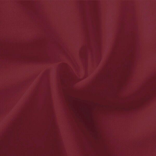 100% Baumwolle Fahnentuch Farbe Weinrot