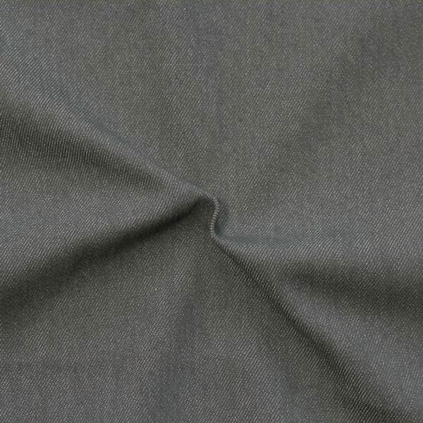 Stretch Denim Jeans Stoff Dunkel-Grau