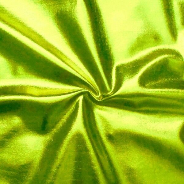 Stretch Folienjersey Farbe Lind-Grün