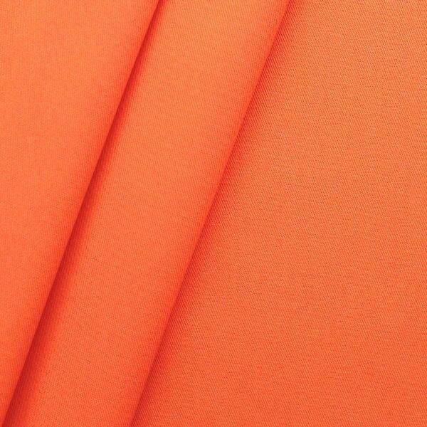 "100% Baumwoll Köper ""Fashion Standard"" Farbe Orange"