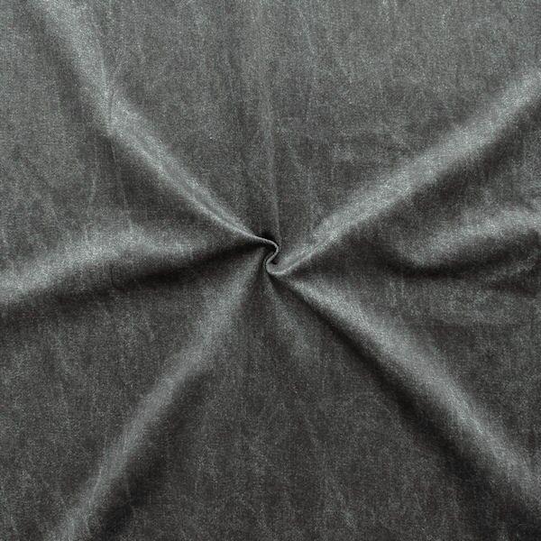 "Polsterstoff / Dekostoff Artikel Jackson Digital Druck ""Jeans Look"" Farbe Schwarz"