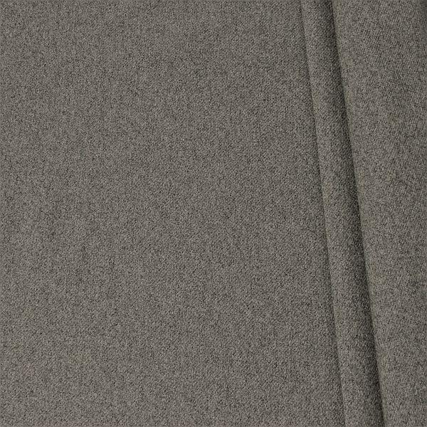 Polsterstoff Möbelstoff Filzoptik Dunkel-Grau