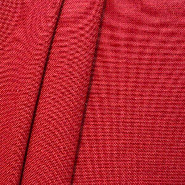 Polster- Möbelstoff Artikel Muna Rot meliert