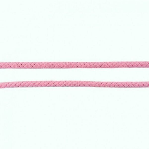 Baumwollkordel 8mm  Rosa