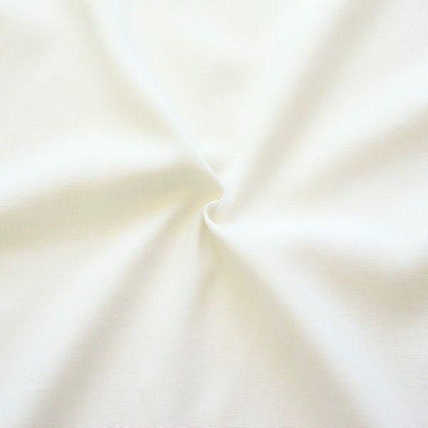 Leinen-Baumwolle Stoff Ecrú