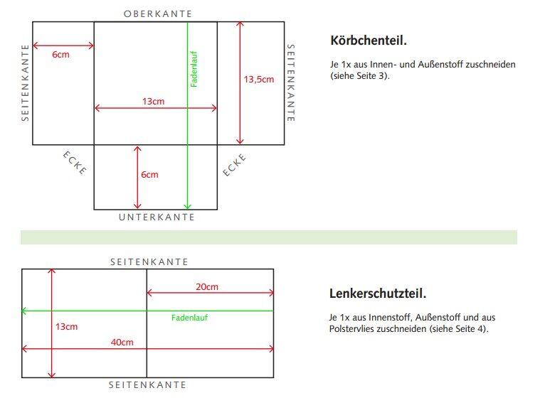 Kostenlose Nähanleitung für eine Lenkertasche | Stoffkontor.eu