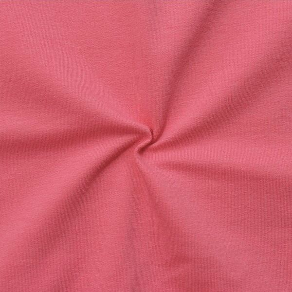 Sweatshirt Baumwollstoff French Terry Koralle