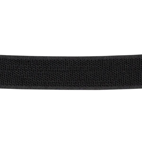 Klett Hakenband selbstklebend 25mm Schwarz