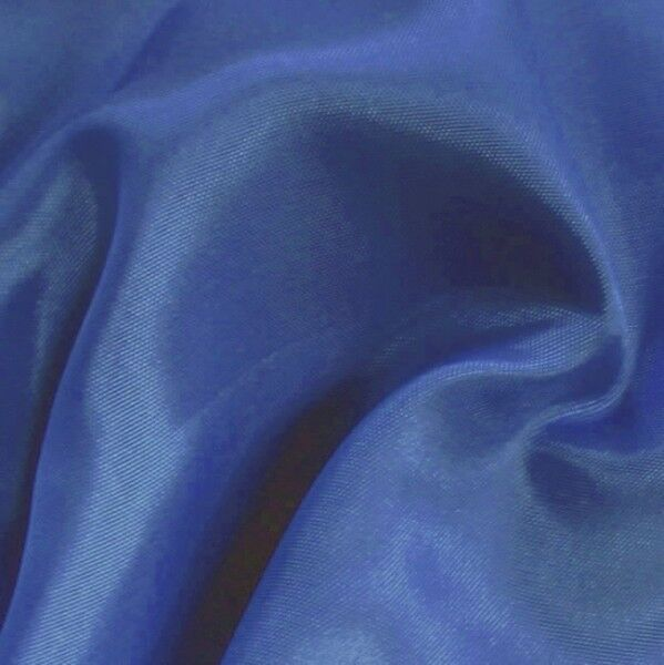Stretch Futter Taft Farbe Royal-Blau