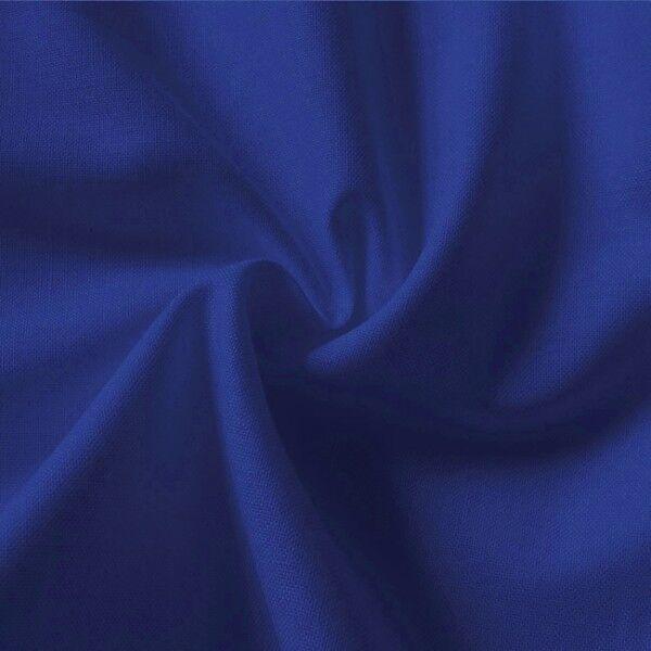 100% Baumwolle Fahnentuch Farbe Royal-Blau