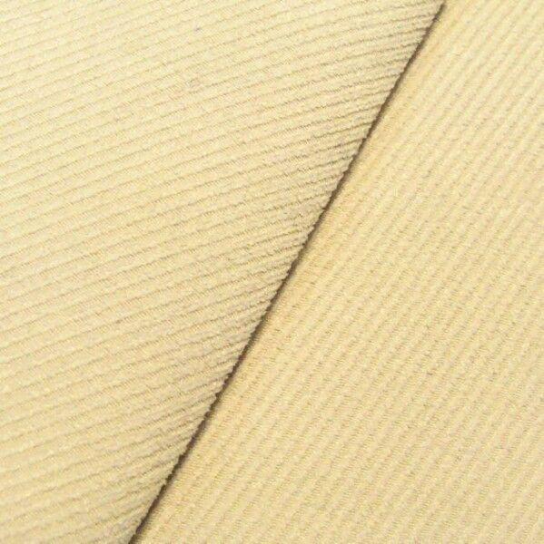 Polster- Möbelstoff Köper Struktur Artikel Phönix Farbe Woll-Weiss