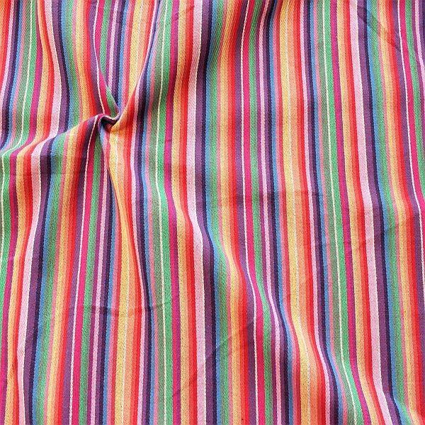 Mode- Dekostoff Poncho Style Multicolor