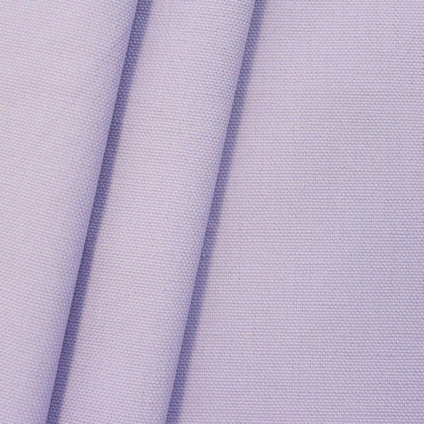 100% Baumwolle Canvas Farbe Hell-Lila