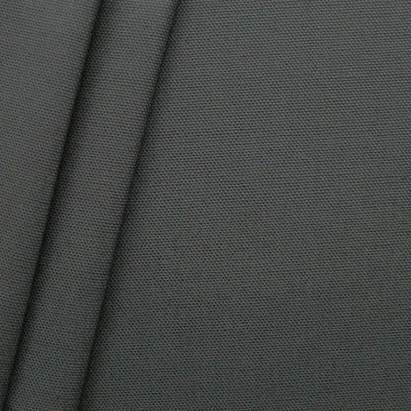 100% Baumwolle Canvas Farbe Dunkel-Grau