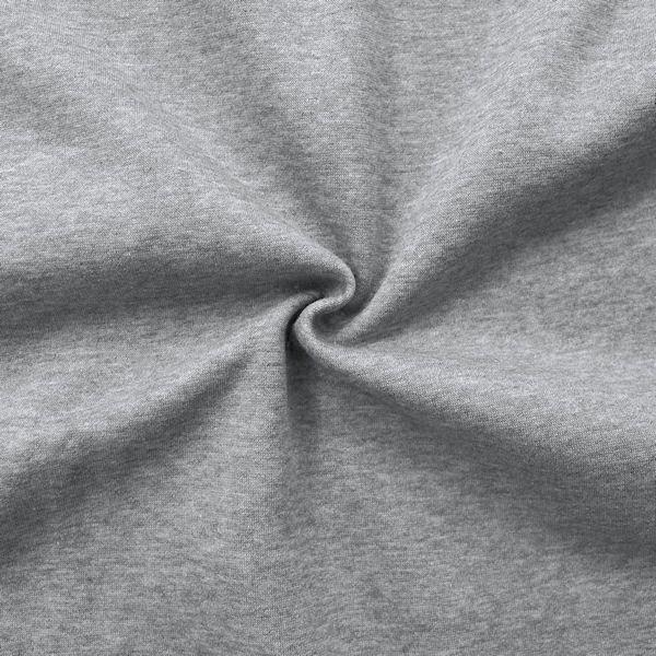 Sweatshirt Baumwollstoff Artikel Jogging Farbe Hell-Grau meliert