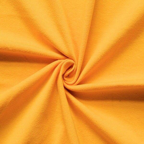 "Baumwoll Stretch Jersey ""Basic 2"" Farbe Gelb"