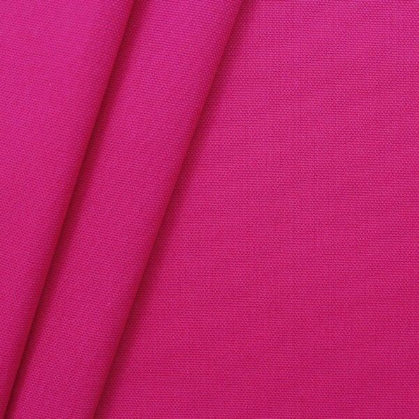 100% Baumwolle Canvas Farbe Pink