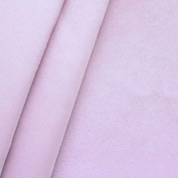 Microfaser Polster- Möbelstoff Artikel Belania Farbe Hell-Lila