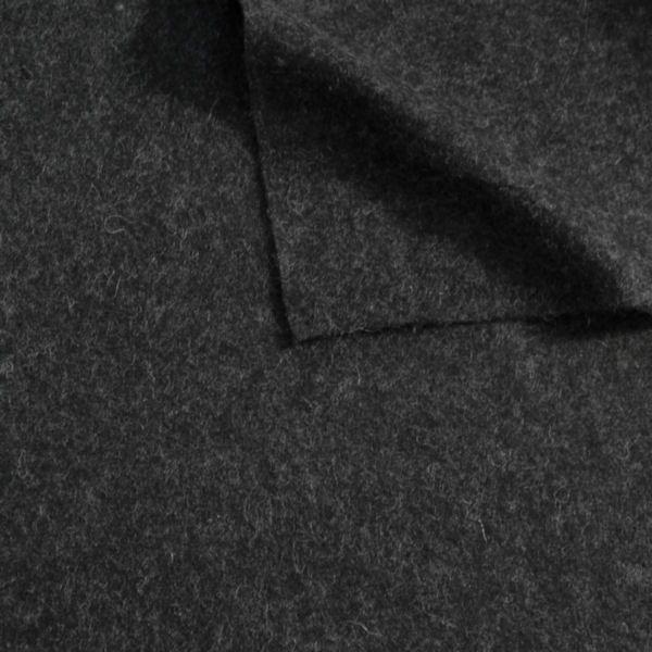 Wollfilz Farbe Dunkel-Grau meliert