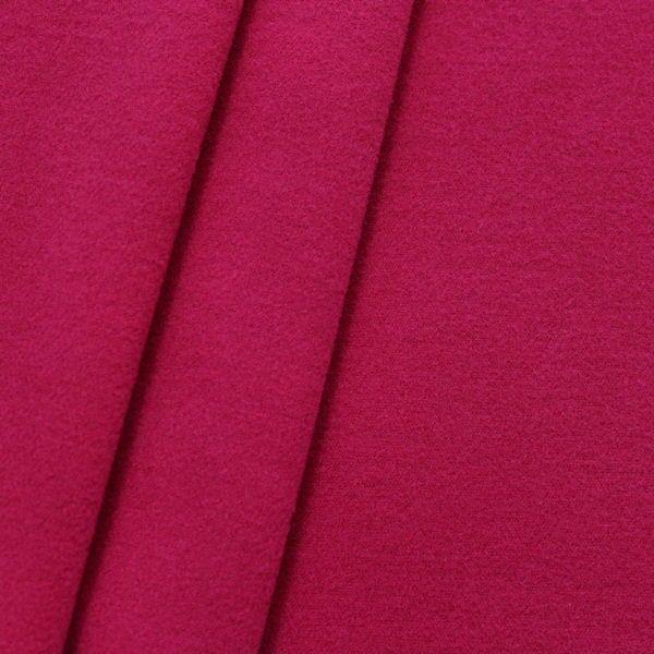 Mantel Flausch Modestoff Fuchsia