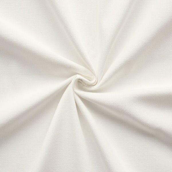 Baumwolle Feincord Babycord Weiss